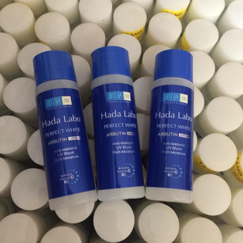 Combo 3 chai Dung dịch dưỡng trắng vượt trội Hada labo Perfect White 40ml giá rẻ