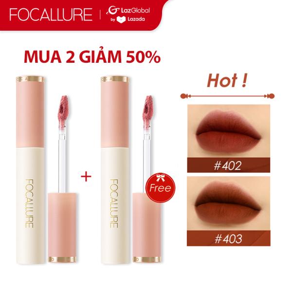 【MUA 2 GIẢM 50%】FOCALLURE Son môi màu nhung mịn, lên màu đẹp có trọng lượng 24g - INTL cao cấp