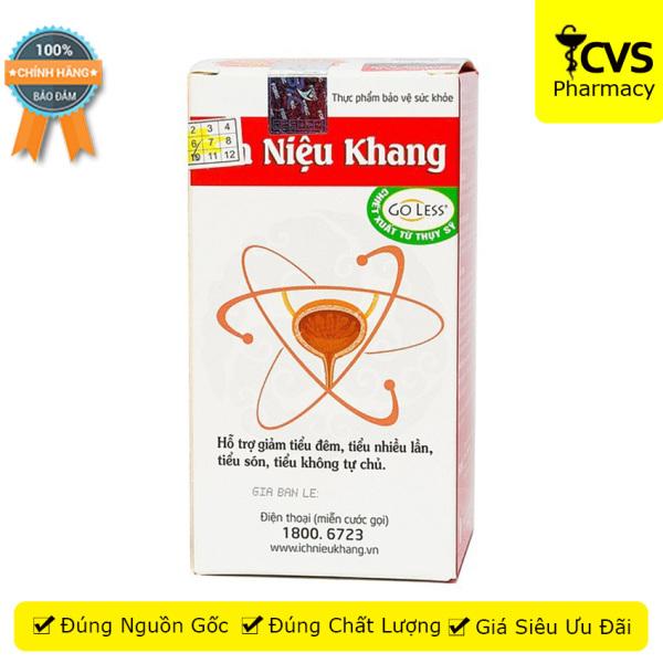 Ích Niệu Khang (Hộp 80 Viên uống) - Hỗ trợ giảm tiểu đêm, tiểu nhiều lần, tiểu són, tiểu không tự chủ - cvspharmacy cao cấp