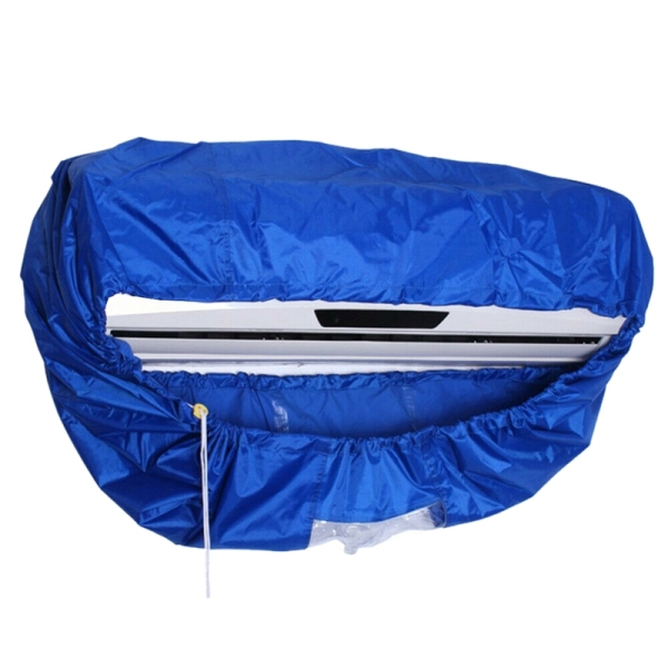 Air Conditioning Cleaning Cover Tool Waterproof Dust Washing Clean Protector Bag