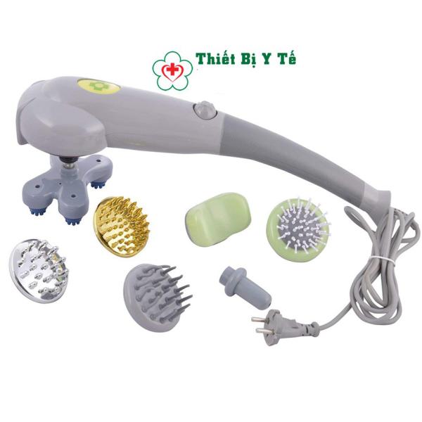 Máy massage toàn thân đa năng, máy massage cầm tay với 7 đầu massage giúp xoa bóp thư giãn giảm đau, đánh tan mỡ làm tăng cơ, có thể xoa bóp vào cơ nhỏ và sâu-máy massage bụng, máy matxa cầm tay. nhập khẩu
