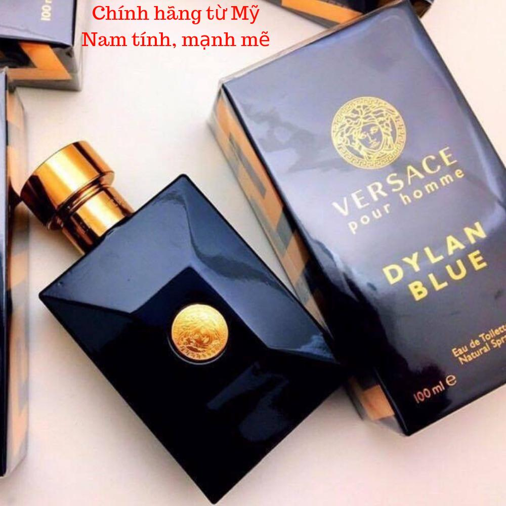 Nước hoa nam Versace Dylan Blue Pour Homme Eau De Toilette 100ML