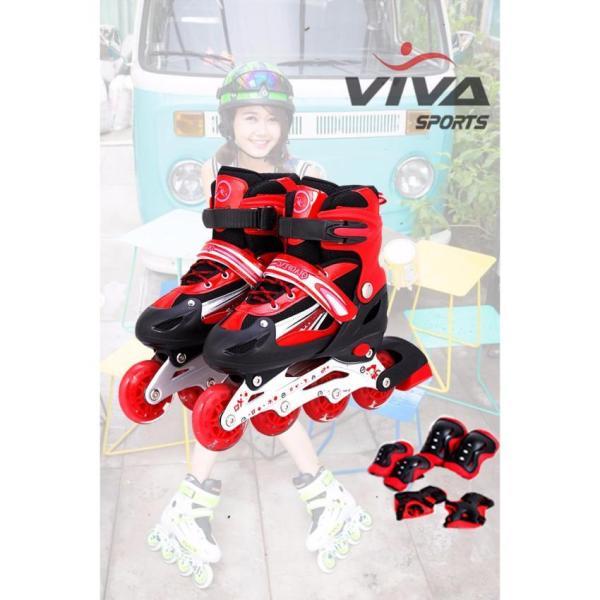 Mua Combo giày patin + bảo vệ 6 miếng + Mũ