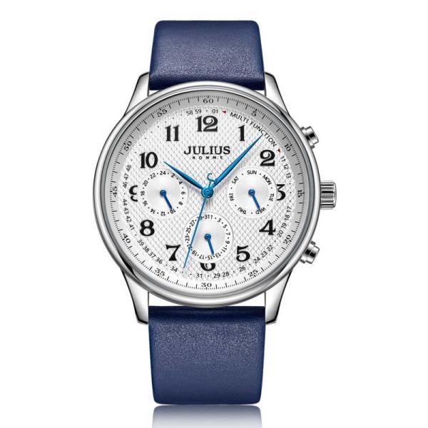 Đồng hồ nam Julius Hàn Quốc JAH-108 dây da lịch lãm bán chạy