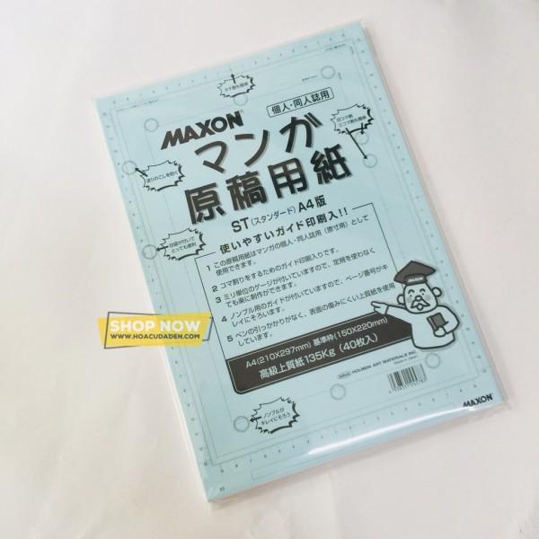 Giấy Vẽ Truyện Tranh HOLBEIN Maxon 135g A4 (40 tờ)