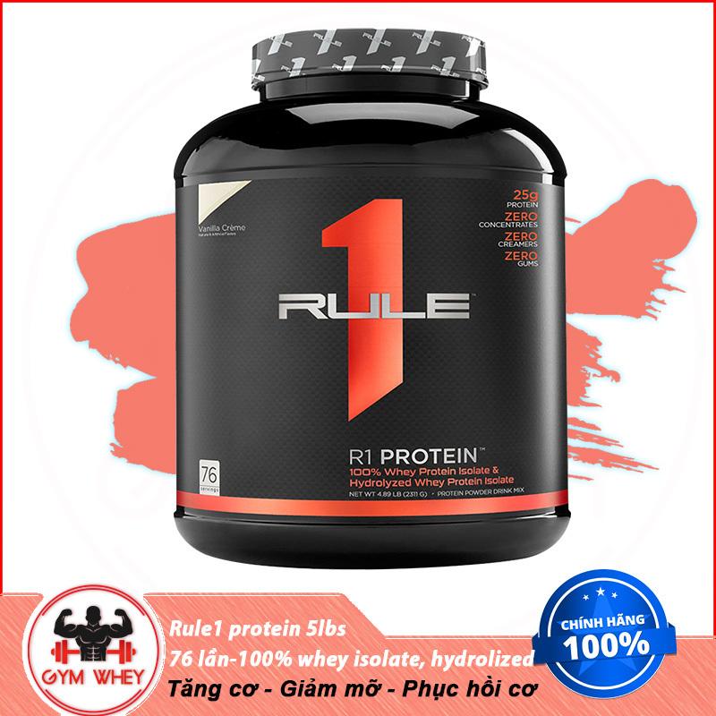Sữa Dinh Dưỡng Tăng Cơ RULE 1 Protein 5Lbs (2.3 KG) tốt nhất
