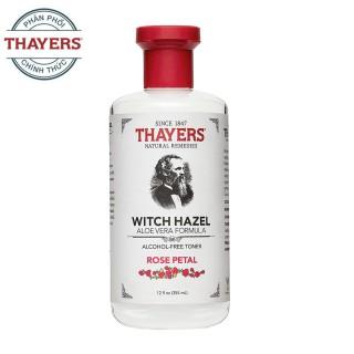 Nước Hoa Hồng Không Cồn Thayers Witch Hazel Rose Petal 355ml (Dành cho da khô, da thường) thumbnail