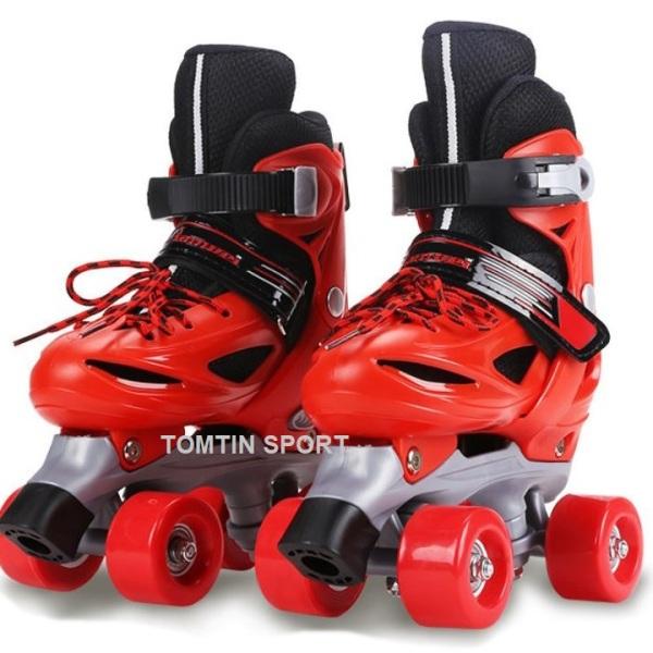 Phân phối Giày trượt patin trẻ em tặng kèm bảo hộ chân tay, giày patin 4 bánh 2 hàng đi được ngay và không lo bị ngã, quà tặng sinh nhật cho bé trai và bé gái từ 2-10 tuổi [TOMTIN SPORT]