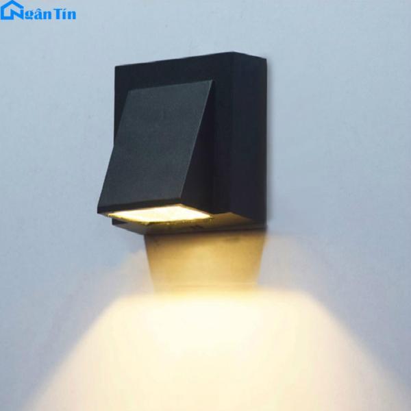 Đèn Led treo tường gắn tường ngoài trời trong nhà Led 5W 220V VNT614 Ngân Tín