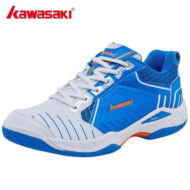 Giày cầu lông Kawasaki K162 mẫu mới chống lật cổ chân dành cho nam và nữ có 2 màu lựa chọn đủ size - Giày bóng chuyền chuyên dụng - Giày thể thao nam nữ - Shop thể thao giày giá rẻ