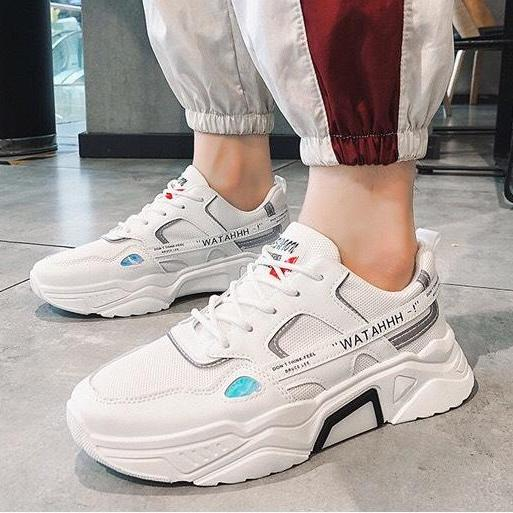 (Video Thật) Giày Sneaker Nam Thể Thao Tăng 5cm Chiều Cao Phản Quang Đêm Cực Chất - MinhNhat, Kiểu Dáng Cực Chất Dễ Phối đồ Giảm Giá Khủng