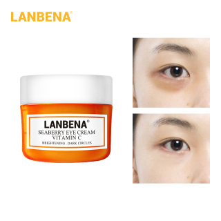 Kem mắt LANBENA chứa vitamin C trị quầng thâm bọng mắt xoá nếp nhăn chống lão hoá làm sáng da - INTL thumbnail