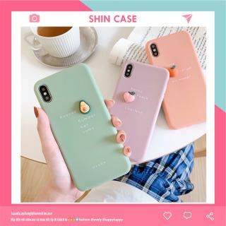 Ốp lưng iphone Trái Cây Tí Hon 3D 6 6plus 6s 6s plus 6 7 7plus 8 8plus x xs xs max 11 11 pro 11 promax (b83) - Shin Case thumbnail