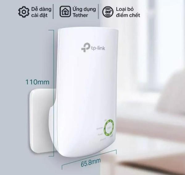 Bảng giá Bộ Kích Sóng Wifi Repeater 300Mbps TP-Link TL-WA854RE - Hàng Chính Hãng, Bộ mở rộng sóng WiFi TP-Link TL-WA850RE tốc độ 300Mbps Phong Vũ
