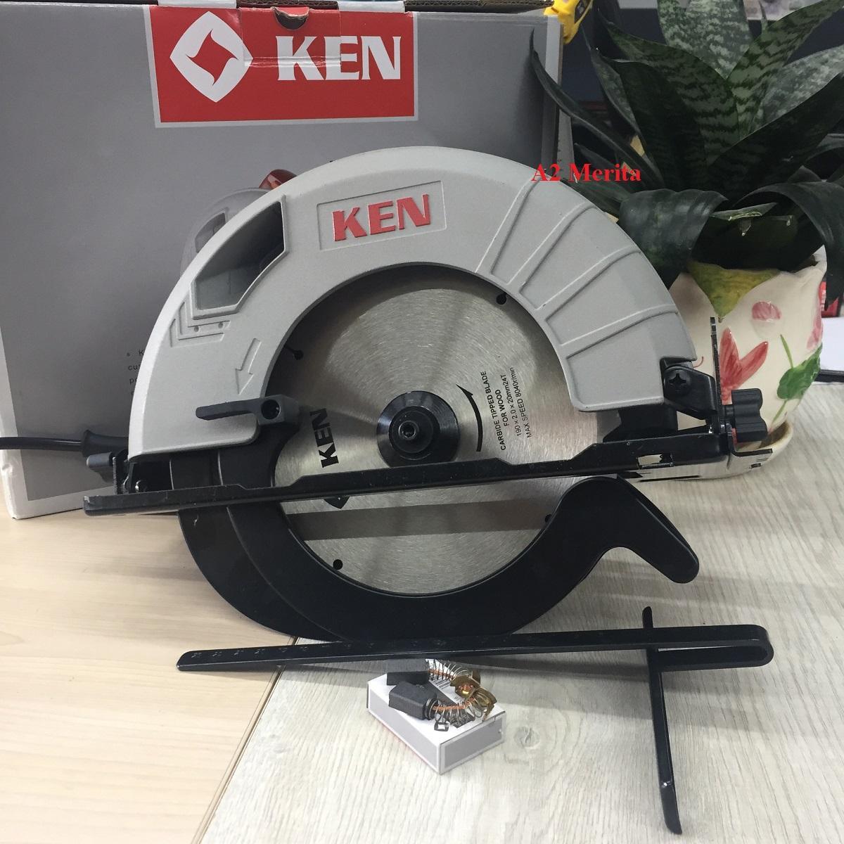 Máy cưa đĩa 185mm - 1350W KEN 5637 (Kèm chổi than)