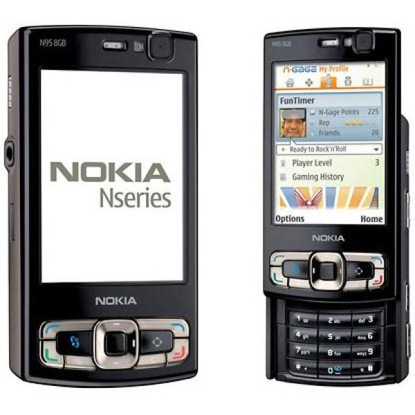 Điện thoại nắp trượt 2 chiều Nokia N95 8GB