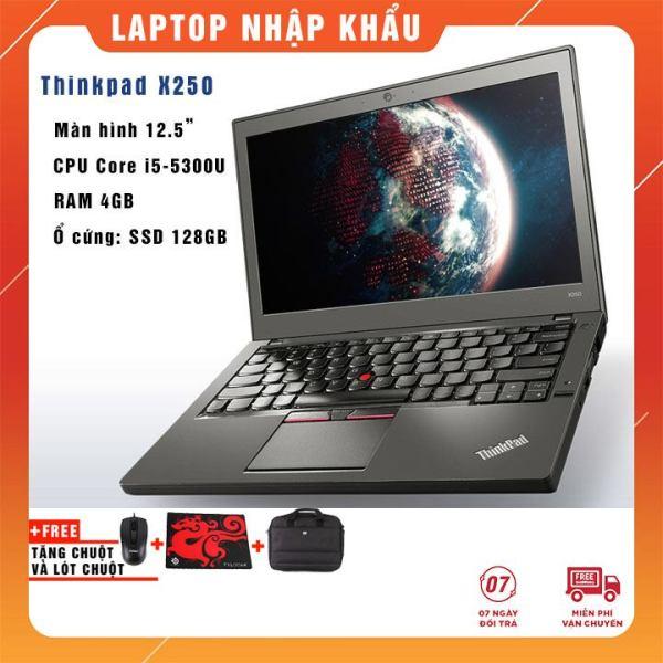 Bảng giá Laptop Lenovo ThinkPad X250 i5-5300U   Ram 4Gb/8GB   SSD 128Gb/256Gb 12.5   HD - Nhập khẩu USA Phong Vũ