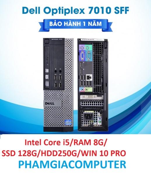Bảng giá [HCM][Trả góp 0%]Case Thùng máy đồng bộ Dell Optiplex 7010 SFF Core i5 3rd RAM 8G SSD128GB HDD 250G -Tặng USB Thu Wifi Phong Vũ