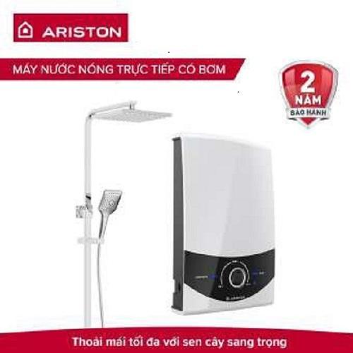 Máy nước nóng trực tiếp có bơm Ariston SMC45PE-VN RS 4500W Sen Cây