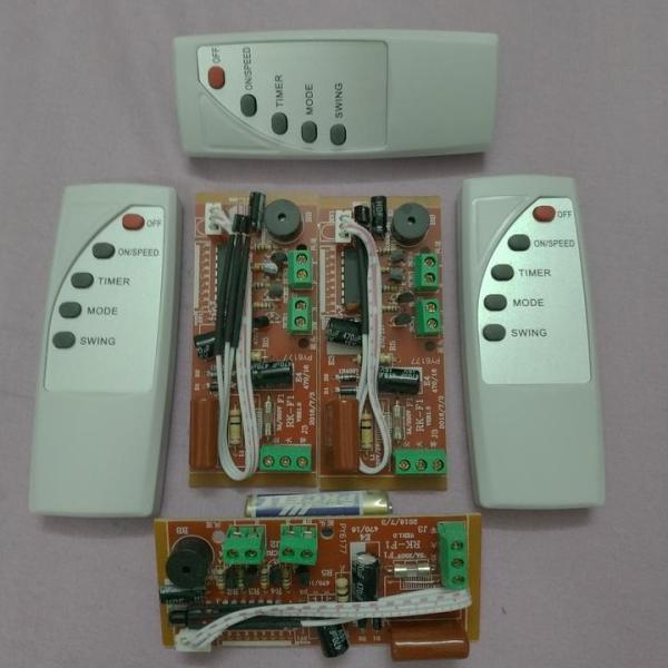 Combo 2 bộ Mạch điều khiển từ xa cho quạt (Tiếng Anh)