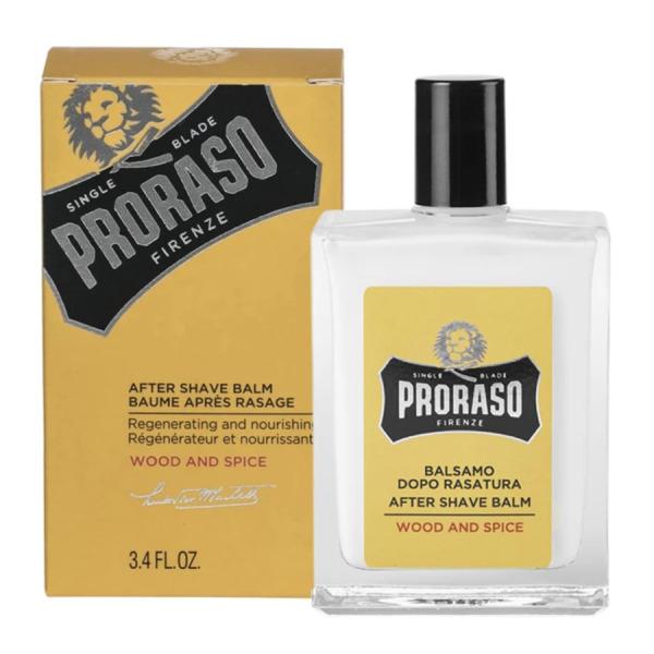 Dưỡng Da Sau Cạo Râu Proraso Aftershave Balm Wood & Spice (Acohol Free) - 100ml giá rẻ