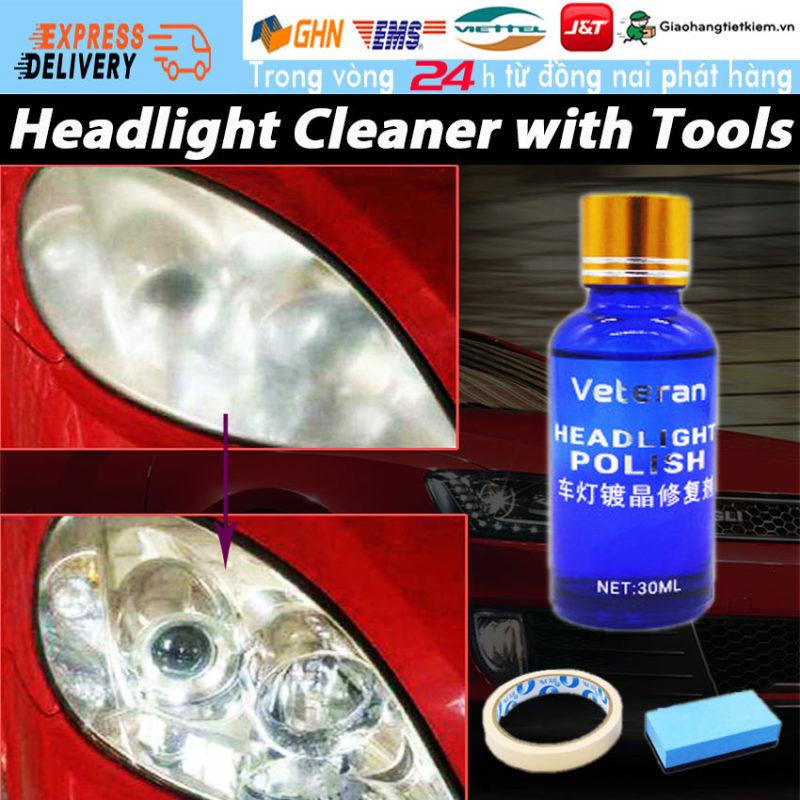 【Trong 24h gửi hàng】Dung Dịch Đánh Bóng đèn pha ô tô xe máy làm đẹp xe hơi dụng cụ đánh bóng