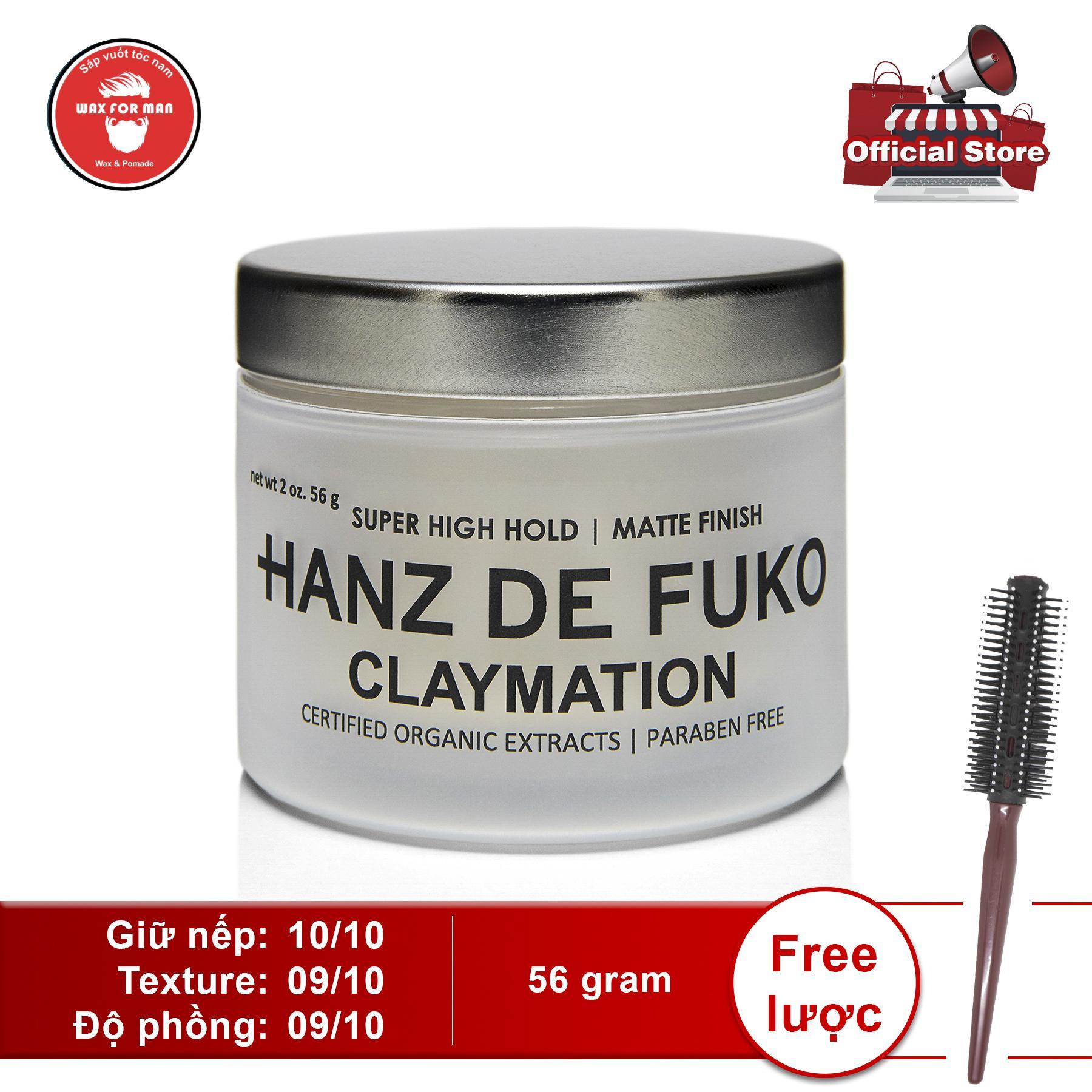 Sáp vuốt tóc Hanz De Fuko Claymation