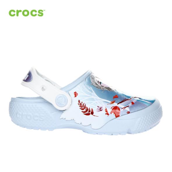 CROCS Giày Lười Trẻ Em Funlab Disney Frozen 2 Clog 206165 giá rẻ