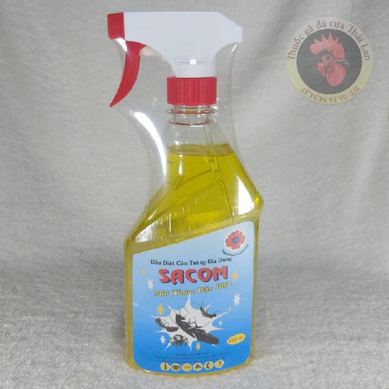 dầu diệt côn trùng gia dụng - SACOM - 1 chai / 630 ml