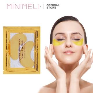 MINIMELI Mặt Nạ Mắt Collagen Vàng Làm Mờ Thâm Quầng Mắt thumbnail