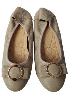 Giày Búp Bê Nữ BIGBEN Da Bò Thật BB81 thumbnail