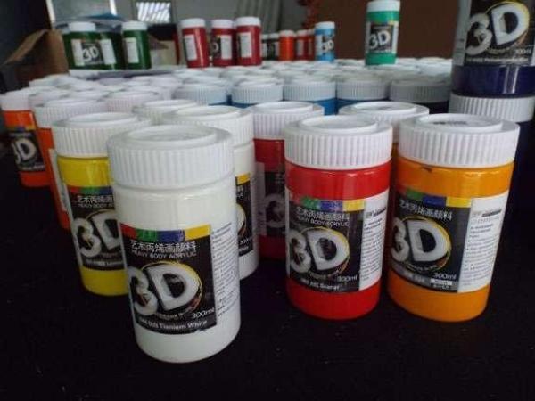 Mua Màu Acrylic 3D 300ml ( đủ tất cả các màu cơ bản )
