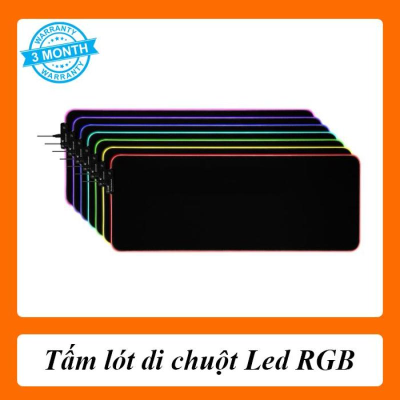Giá [Full Box] Tấm lót di chuột Led RGB