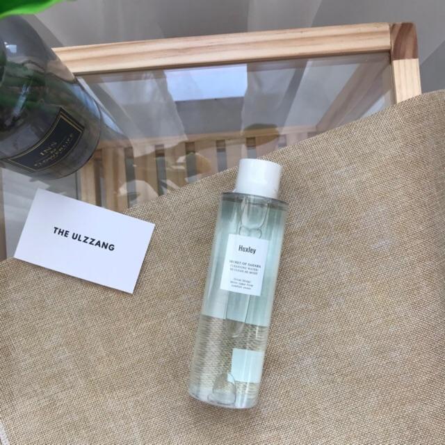 Nước Tẩy Trang Chiết Xuất Xương Rồng Huxley Cleansing Water ; Be Clean, Be Moist cao cấp