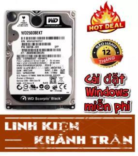 Ổ cứng hdd laptop nhiều dung lượng - Bảo hành 12 tháng thumbnail