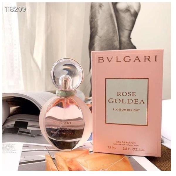 Nước hoa nữ Bvlgari Goldea Rose Blossom Delight EDP 75ml