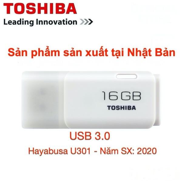 Bảng giá USB 3.0 16GB Toshiba - Sản xuất tại Nhật Bản -Hayabusa U301-16GB- Bảo Hành 5 Năm- Chính Hãng FPT Phong Vũ