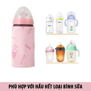 Túi Ủ Ấm Sữa , Giữ nhiệt bình sữa Hàng Xuất Dùng Cổng Sạc USB thumbnail