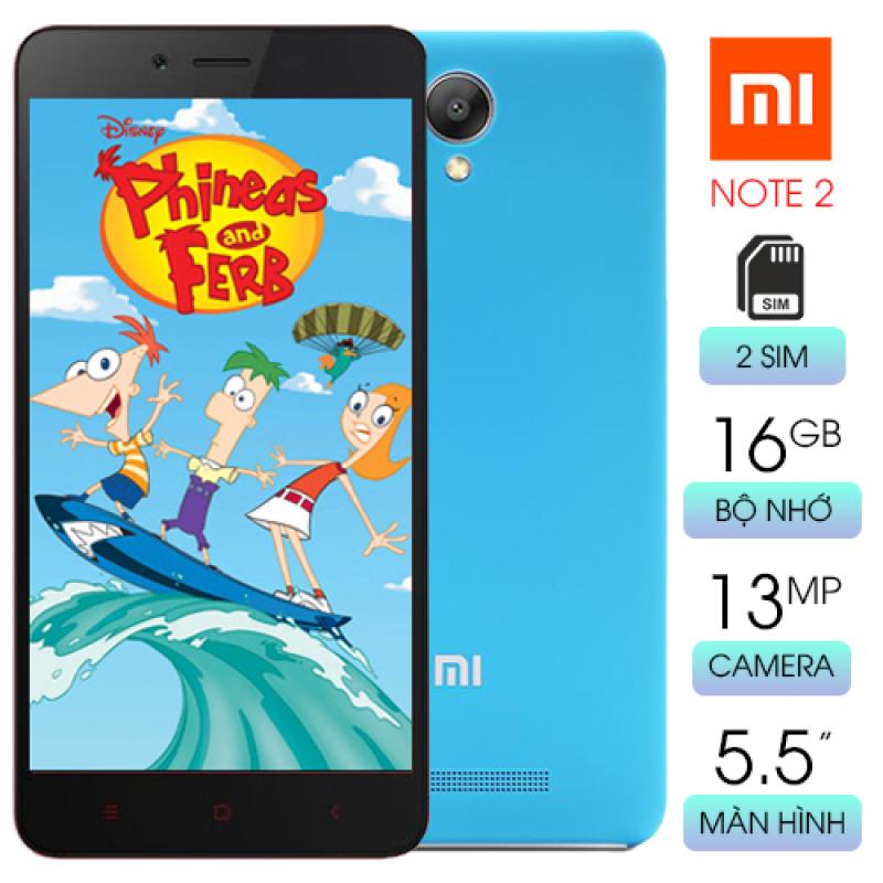 Điện thoại giá rẻ Xiaomi Redmi Note 2 Màn hình cảm ứng FullHD 5.5inch - 2 SIM - Hỗ trợ thẻ nhớ micro SD - Camera trước: 5 MP, Camera sau: 13 MP - Hệ điều hành: Android 5.1 Hỗ trợ 3G, 4G LTE, Wifi Dung lượng pin: 3060 mAh