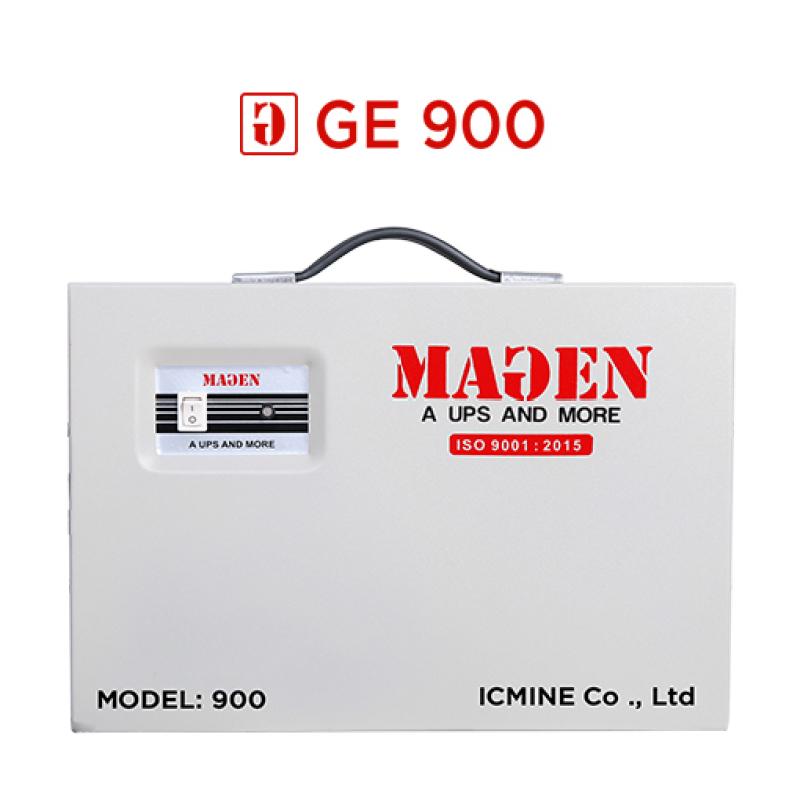 Bảng giá Lưu điện cửa cuốn GE900. Lưu điện 48h. Dùng cho mô tơ 300-600kg. trọn bộ Phong Vũ