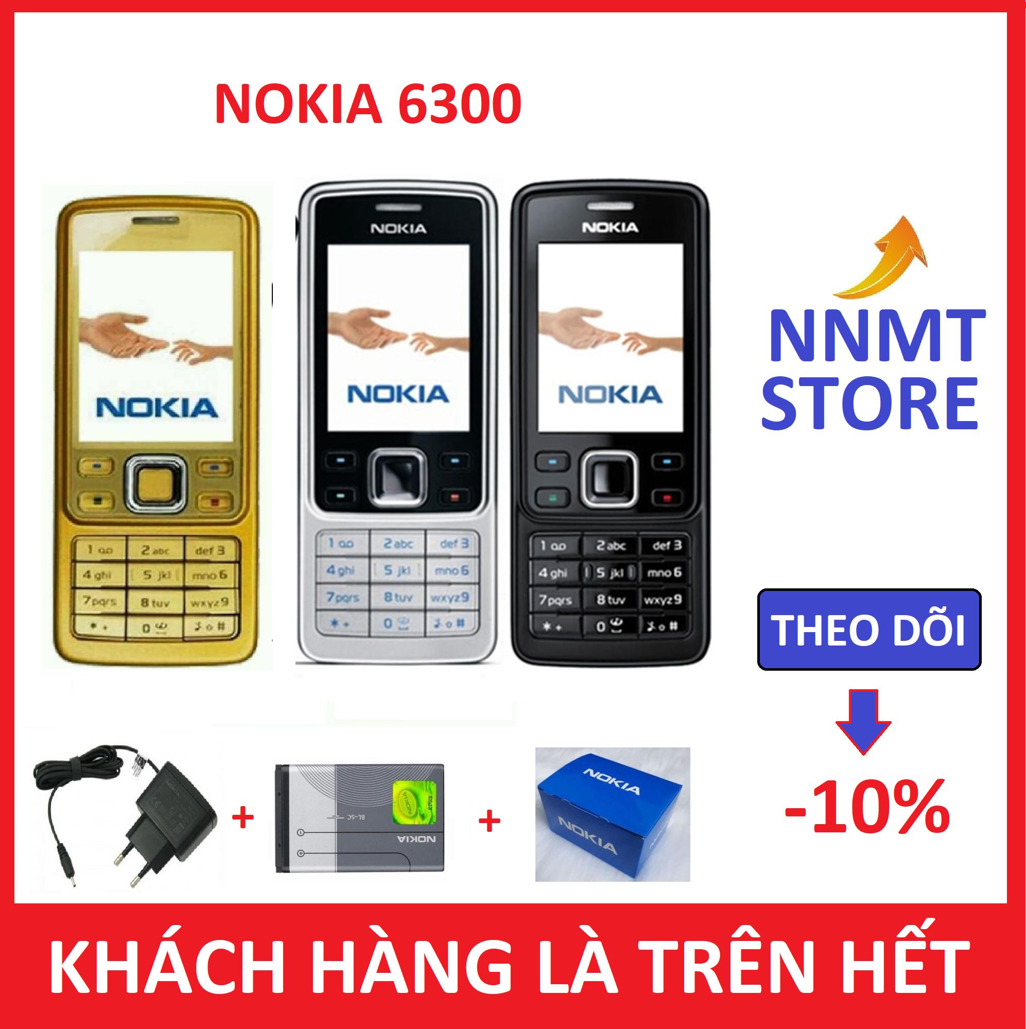 Điện thoại Nokia 6300 Nhiều Màu - Fullbox (Máy + pin + sạc) - Bảo hành 12 tháng - NNMT Store
