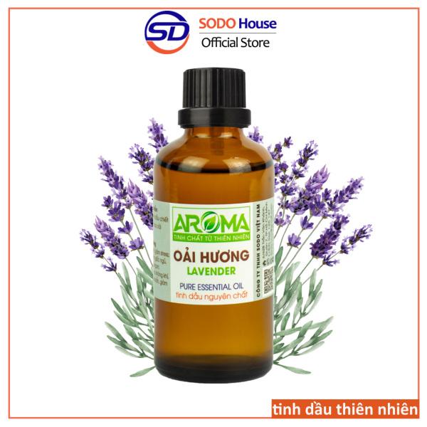 Tinh dầu Oải Hương Lavender, tinh dầu AROMA nhập khẩu từ Pháp | 100% nguyên chất từ thiên nhiên | Thơm phòng, thư giãn, giúp ngủ ngon, chăm sóc da và tóc giá rẻ