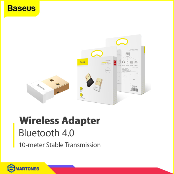 Giá USB-Bluetooth 4.0 Baseus thu phát tín hiệu Bluetooth cho máy tính, laptop