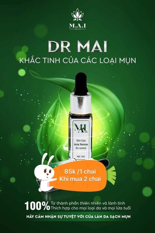 Dr mai nguyên chât 5ml + ( mua 2 chai kèm son dưỡng môi ) nhập khẩu