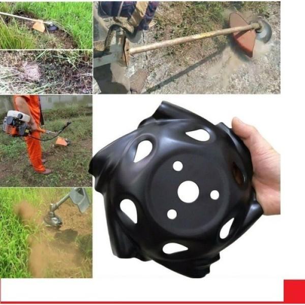 Lưỡi xạc cỏ tận gốc dành cho máy cắt cỏ, chất liệu thép, đường kính 24cm, luoi xac co