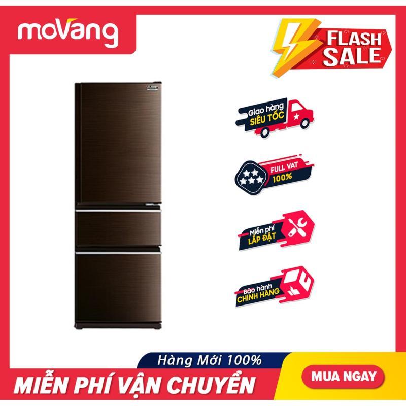 Tủ lạnh Mitsubishi Electric 326 lít MR-CX41EJ-BRW-V công nghệ Neuro Inverter tiết kiệm đến 45% điện năng, thiết kế 3 vùng nhiệt độ riêng biệt