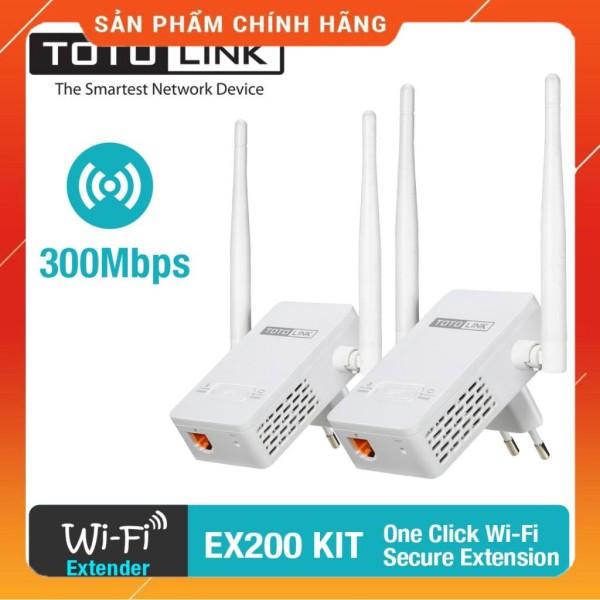 Bảng giá Bộ thu phát sóng wifi Totolink EX200 - Hàng phân phối chính thức Phong Vũ
