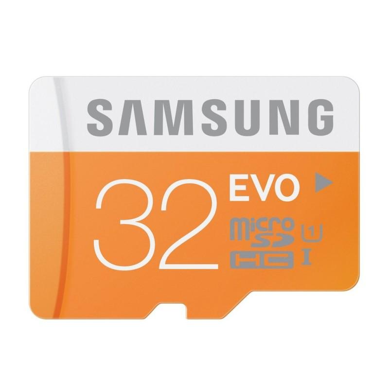Thẻ nhớ 32GB Micro SD Samsung Evo dùng cho camera wifi, điện thoại, máy ảnh