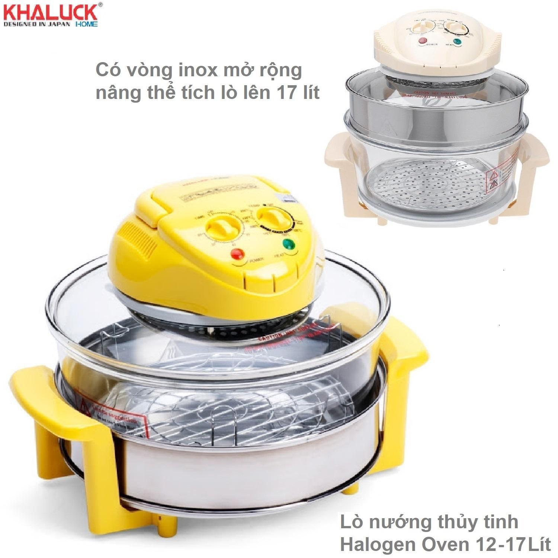 Bảng giá Lò nướng thủy tinh halogen Oven 12-17 lít Khaluck home KL 658H Điện máy Pico