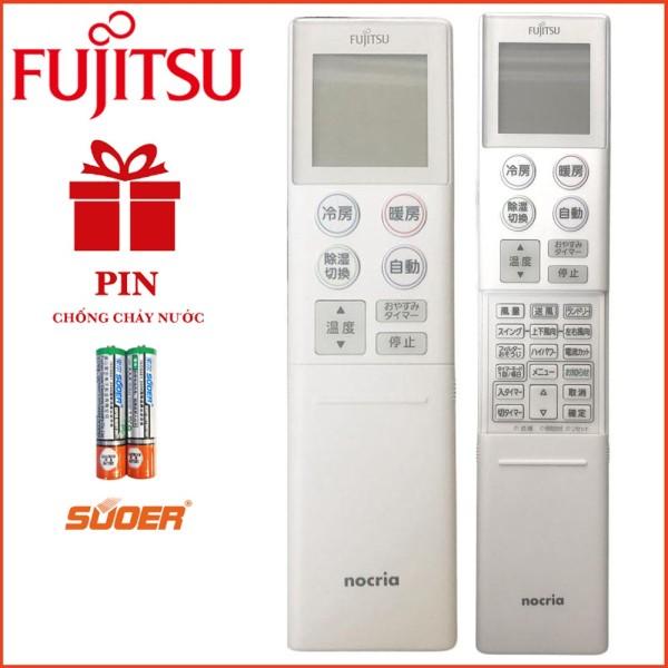Remote Điều khiển điều hoà Fujitsu Nocria Chữ Nhật - Hàng Chính Hãng
